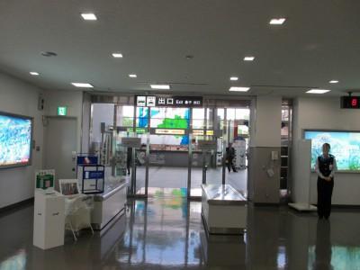 福島空港 到着ロビー 写真  関西からの行き方 大阪から日光東照宮 アクセス 飛行機 レンタカー 車