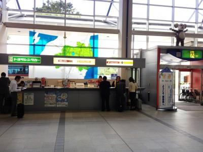 福島空港 レンタカーカウンター 関西からの行き方 大阪から日光東照宮 アクセス 飛行機 レンタカー 車