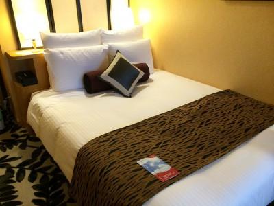 ANAクラウンプラザホテルグランコート名古屋 客室 アーバンダブル ダブルベッド