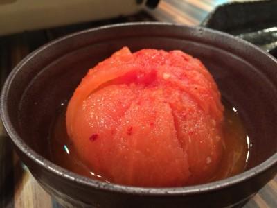 大阪/福島 フジヤマドラゴン福島店 一品メニュー トマトキムチ