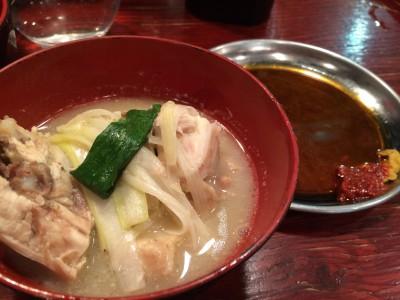 大阪/福島 フジヤマドラゴン福島店 鶏丸鍋 韓国