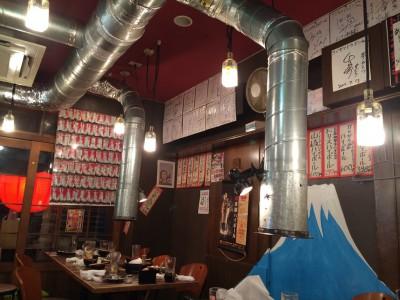 大阪/福島 フジヤマドラゴン福島店 店内