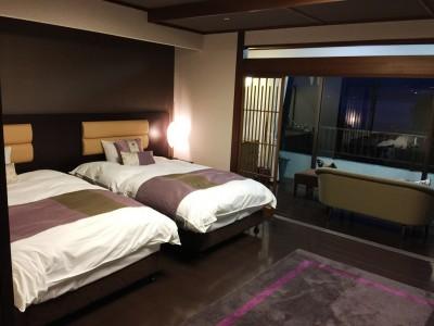 南紀勝浦 温泉旅館 かつうら御苑  客室