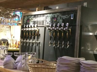 福島クラフトビールキッチン POGO ビールタップ