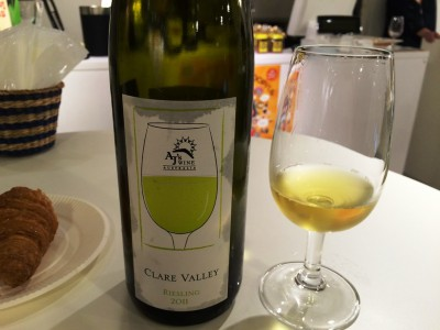 AJ's Clare Vally Riesling クリアバレー リースリング