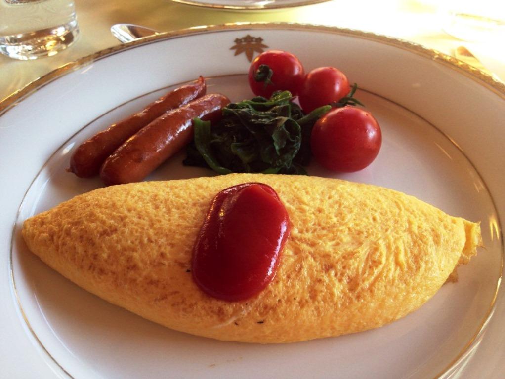 日光金谷ホテル 日本最古リゾートホテル 朝食メニュー メインダイニング