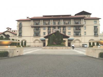 グランディ那須白河ザ・ロッジ グランディ那須白河ゴルフクラブ ダンロップスリクソン福島オープン 松山英樹 男子ゴルフツアー リゾートホテル ホテル外観