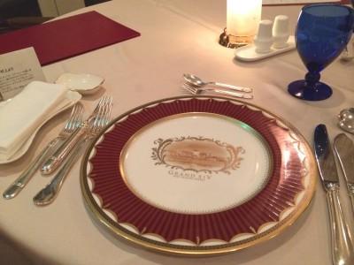 グランディ那須白河ザ・ロッジ グランディ那須白河ゴルフクラブ ダンロップスリクソン福島オープン リゾートホテル 夕食 フレンチレストラン