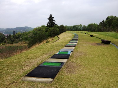 グランディ那須白河ザ・ロッジ グランディ那須白河ゴルフクラブ ダンロップスリクソン福島オープン 松山英樹 男子ゴルフツアー 練習場 ドライビングレンジ
