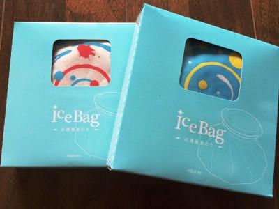 アイスバッグ 氷嚢 氷のう ゴルフ レジャー 熱中症対策 冷やす オシャレ アイシング 冷却バッグ