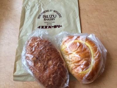 イスズベーカリー 神戸 パン屋 松本家の休日で紹介 テレビ 牛すじ煮込みカレーパン 超特選クリームパン