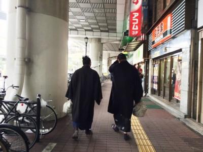 大相撲 大阪場所 三月場所 春場所 朝稽古見学 力士 関取