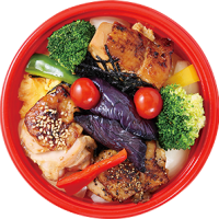 大丸梅田店 どんぶりグランプリ ちちんぷいぷいで紹介 メニュー 1位 スタンプラリー 柿安ダイニング 焼鳥丼