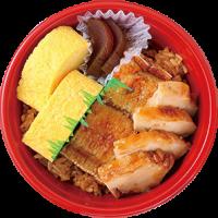 大丸梅田店 どんぶりグランプリ ちちんぷいぷいで紹介 メニュー 1位 スタンプラリー 豆藤 鱧と鶏の照焼丼