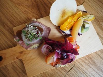 中之島図書館 サンドイッチ 北欧 重要文化財 Smorrebrod Kitchen Nakanoshima スモーブローキッチン
