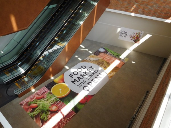 ツタヤ TSUTAYA 枚方T-SITE 枚方市駅 百貨店 駐車場 混雑 TSUTAYA 地下1階 フードマーケット 夏オープン 青果店
