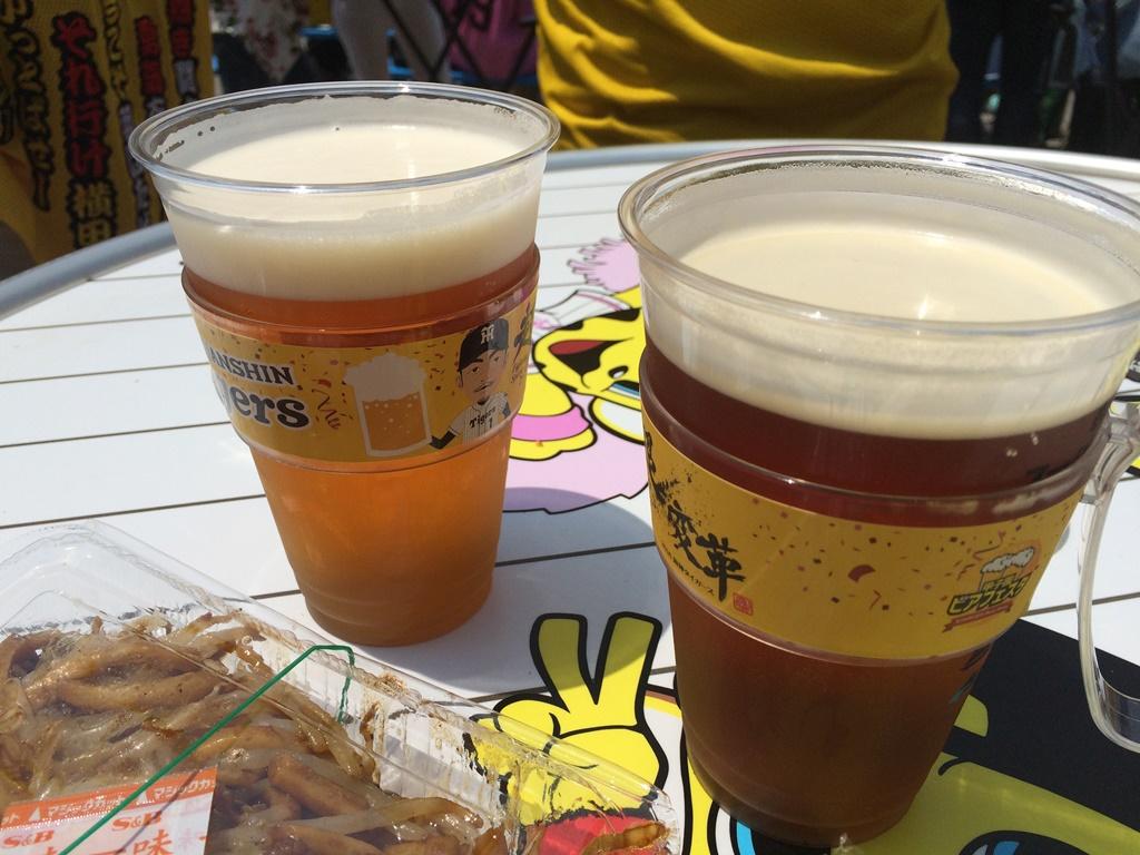 甲子園ビアフェスタ 阪神タイガース ビアガーデン 海外ビール B1グルメ フードメニュー イベント ステージ 吉本芸人 ミズノスクエア 混雑 値段 ビアジョッキホルダー 先着 売り切れ