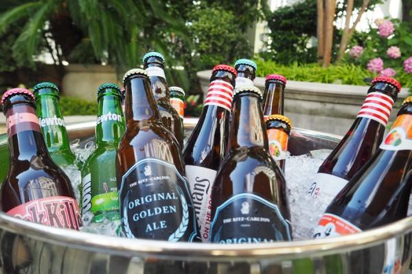 リッツカールトン大阪 ビアガーデン オリジナルクラフトビール ピクニック バスケット 飲み放題 料理内容 メニュー フルーツビール 料金 混雑 予約 雨天中止