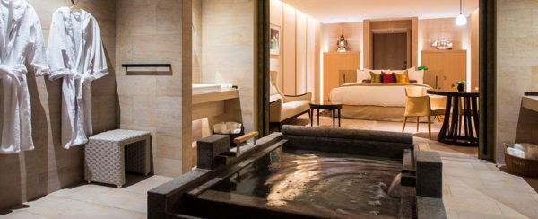 ザ・ひらまつホテルズアンドリゾーツ賢島 THE HIRAMATSU HOTELS &RESORTS 賢島 御影石のお風呂 温泉