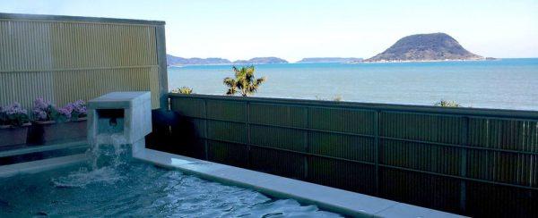 唐津シーサイドホテル・展望浴場「しおさいの湯」