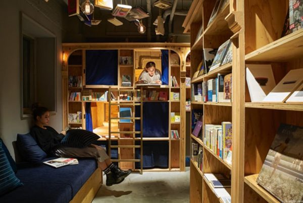 BOOK AND BED TOKYO 京都店 泊まれる本屋 2号店 ホステル 寝落ち 地ビール パジャマ 祇園 東京池袋