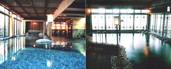 大丸別荘・二日市温泉「玉石敷」大浴場