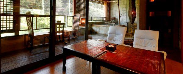 万葉の里 白雲荘/新館離れ・サウナ露天風呂付客室