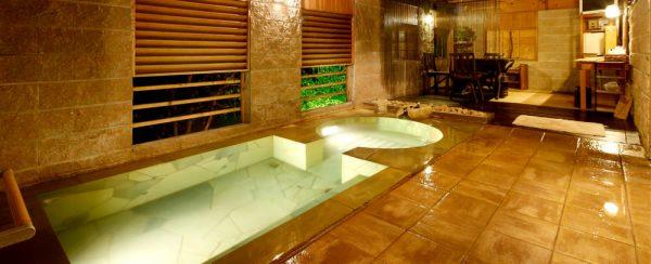 スイートプライベートスパ(貸切露天風呂)ジャグジー温泉