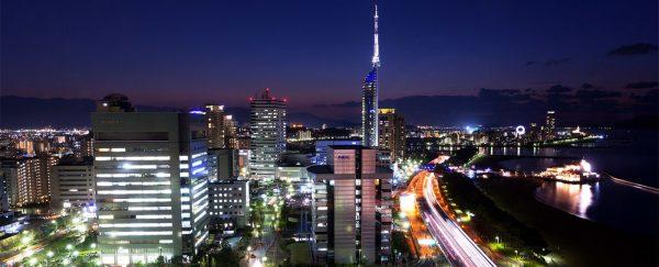 ヒルトン福岡シーホーク・夜景