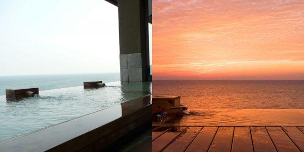 竹崎かに温泉 海上館/オーシャンビュー天然温泉露天風呂