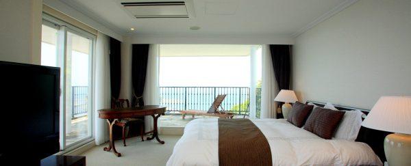 葉山ホテル音羽ノ森/コーナーバルコニースイートルーム