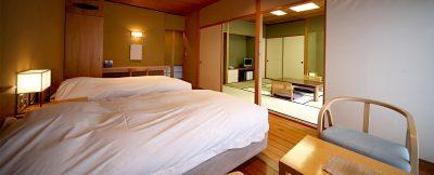 椎葉山荘・客室一例