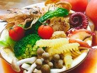 ご当地鍋フェスティバル 大阪 万博記念公園 フードフェス 料金 人気 感想 行列 混雑 完熟トマト鍋~ブイヤベース仕立