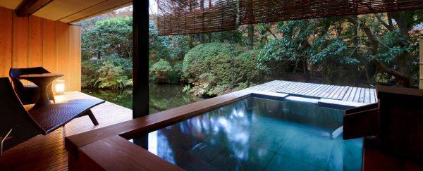 海石榴(つばき)/客室一例・本館露天風呂付