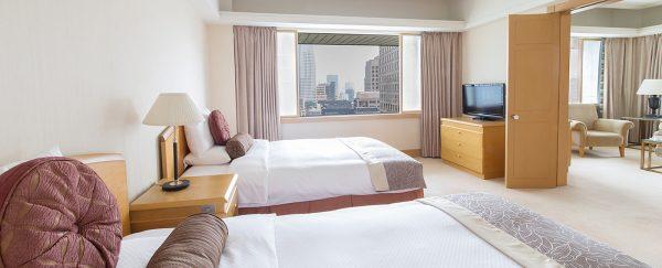 ホテルオークラ東京・スイートルームツイン