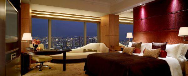 シャングリ・ラ ホテル東京(デラックス インペリアルガーデンビューキングルーム)