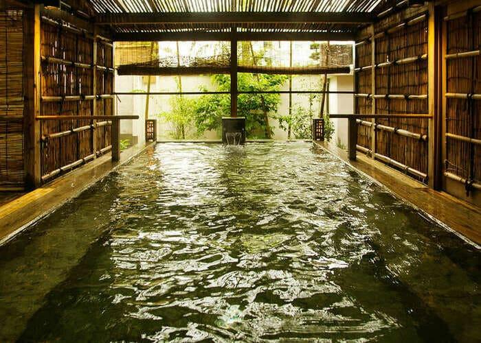 湯田温泉 西の雅 常盤 露天風呂