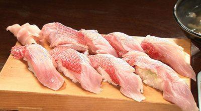 バナナマンのせっかくグルメ 静岡 東伊豆町 ブランド金目鯛 稲取地キンメ 日本一美味しい金目鯛 魚八寿し 金目寿し