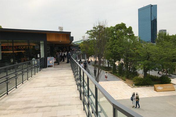 大阪城公園駅直結通路