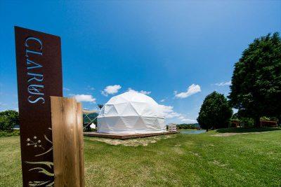 GLAMP ELEMENT グランエレメント グランピング施設 滋賀県米原市 オールインクルーシブ 全て込み 客室 テント 天体観測 ホワイトドーム