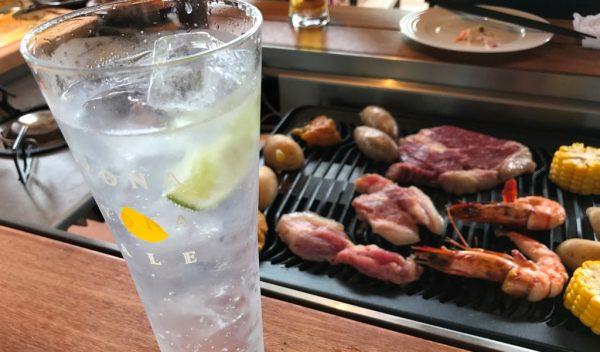 JO-TERRACE OSAKA ジョーテラスオオサカ 大阪城公園 グッドスプーン good spoon バーベキュー BBQ ドリンク 飲み放題