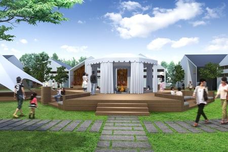 るり渓温泉 グランピング GRAX HANARE グラックスハナレ コテージ ジャグジー 暖炉 ヴィラ オープン 予約