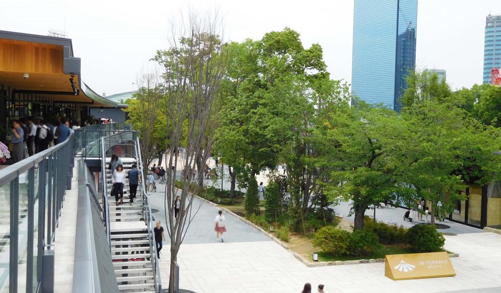JO-TERRACE OSAKA ジョー・テラス・オオサカ 大阪城公園 店舗一覧 商業施設 フロアマップ オープン