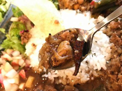 ムール貝のスリランカカレー