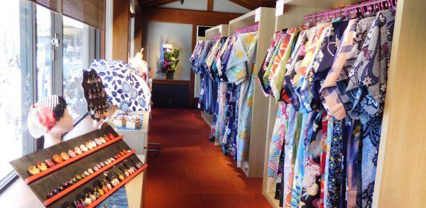 JO-TERRACE OSAKA ジョーテラスオオサカ 大阪城公園 麺菓装 めんかそう 和装体験 浴衣 着物 忍者 撮影