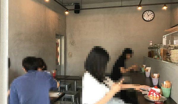 中崎町 かき氷 JAM 韓国ソルビン 中崎町アイス 進化形スイーツ 店内