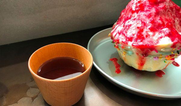 中崎町 かき氷 JAM 韓国ソルビン 中崎町アイス 進化形スイーツ 韓味一