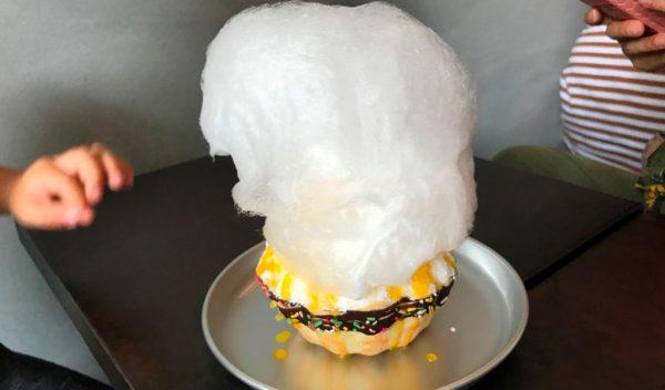 中崎町 かき氷 JAM 韓国ソルビン 中崎町アイス 進化形スイーツ 韓味一 綿菓子