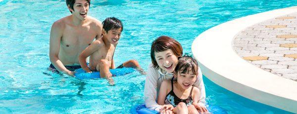 ネスタリゾート神戸 三木市 グランピング 宿泊 日帰り温泉 ホテル ウォータースライダー レジャープール 流れるプール