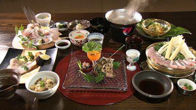よしが浦温泉 夕食